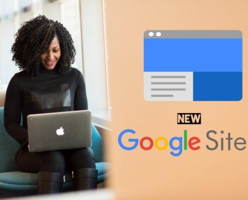 New Google Website Builder